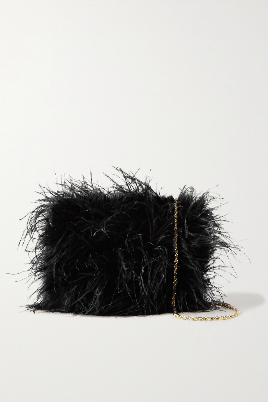 Loeffler Randall Zelda feather shoulder bag
