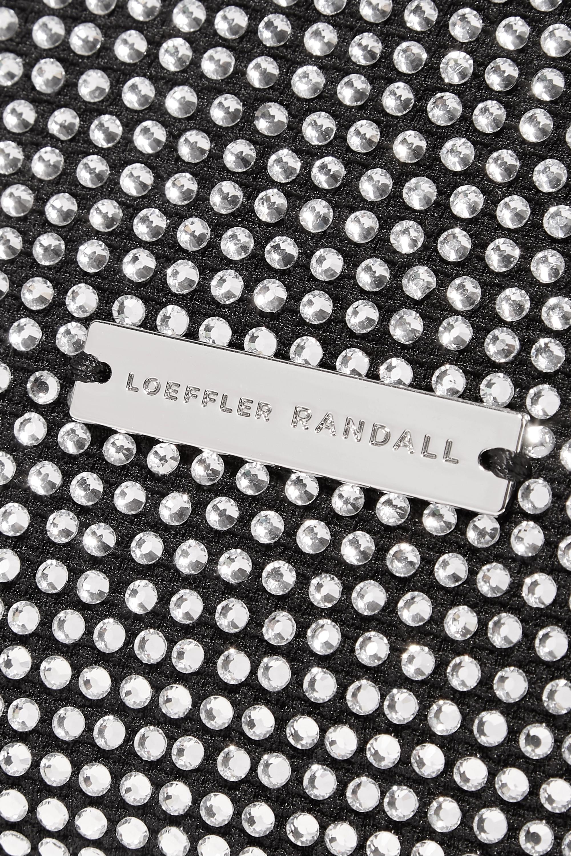 Loeffler Randall Marleigh Schultertasche aus Satin mit Kristallen