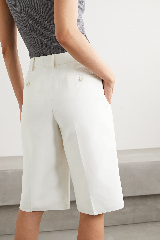 Alexander Wang Fold-over woven shorts