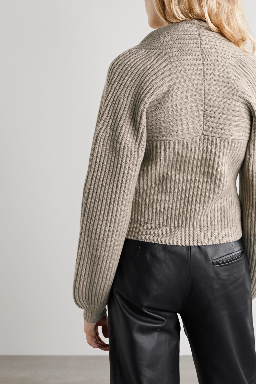 Alexander Wang Ribbed wool-blend sweater