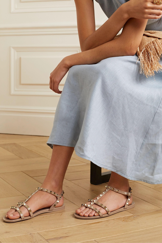 Valentino Valentino Garavani Rockstud rubber sandals