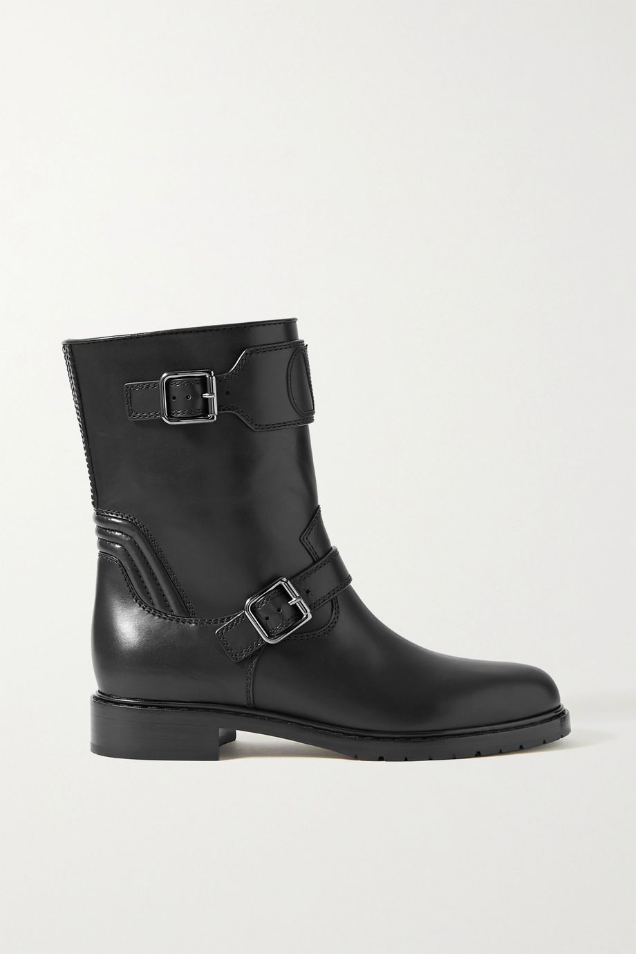Valentino Valentino Garavani Go Logo Rider 35 leather ankle boots