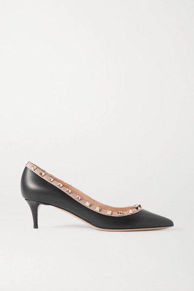 Valentino Garavani Rockstud 50 Leather Pumps by Valentino