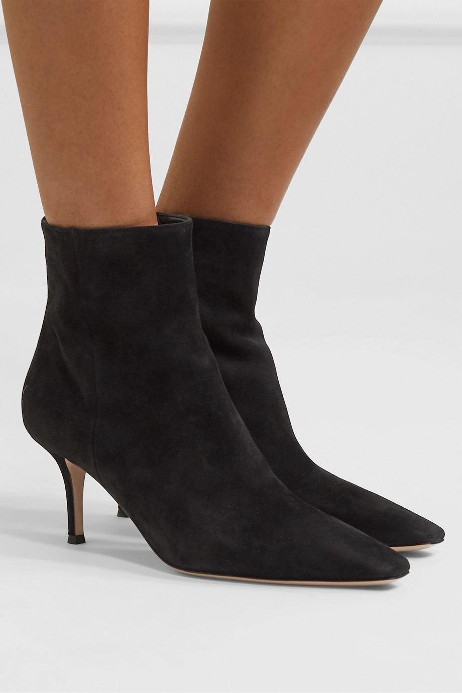 Gianvito Rossi 70 suede ankle boots