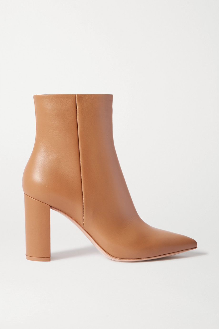 Gianvito Rossi Piper 85 Ankle Boots aus Leder