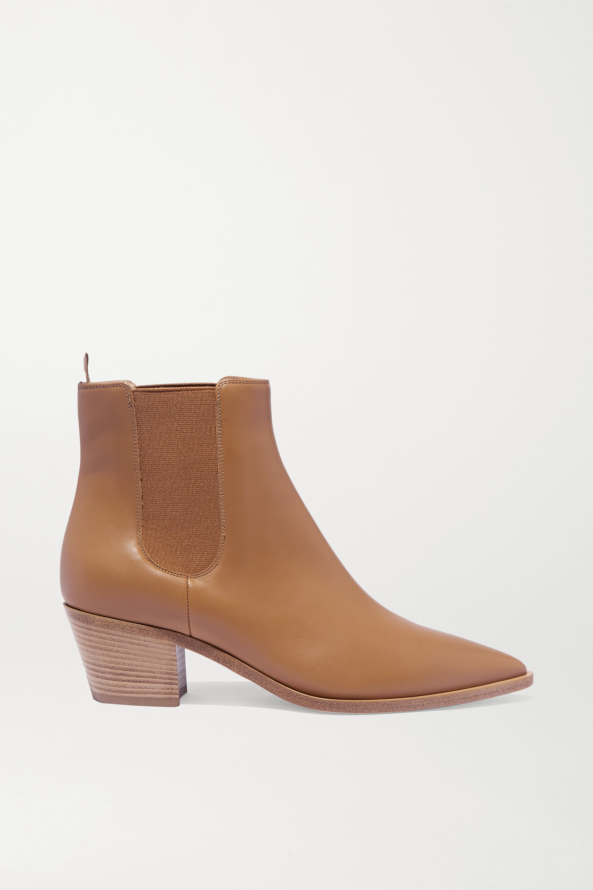 Gianvito Rossi 45 leather Chelsea boots