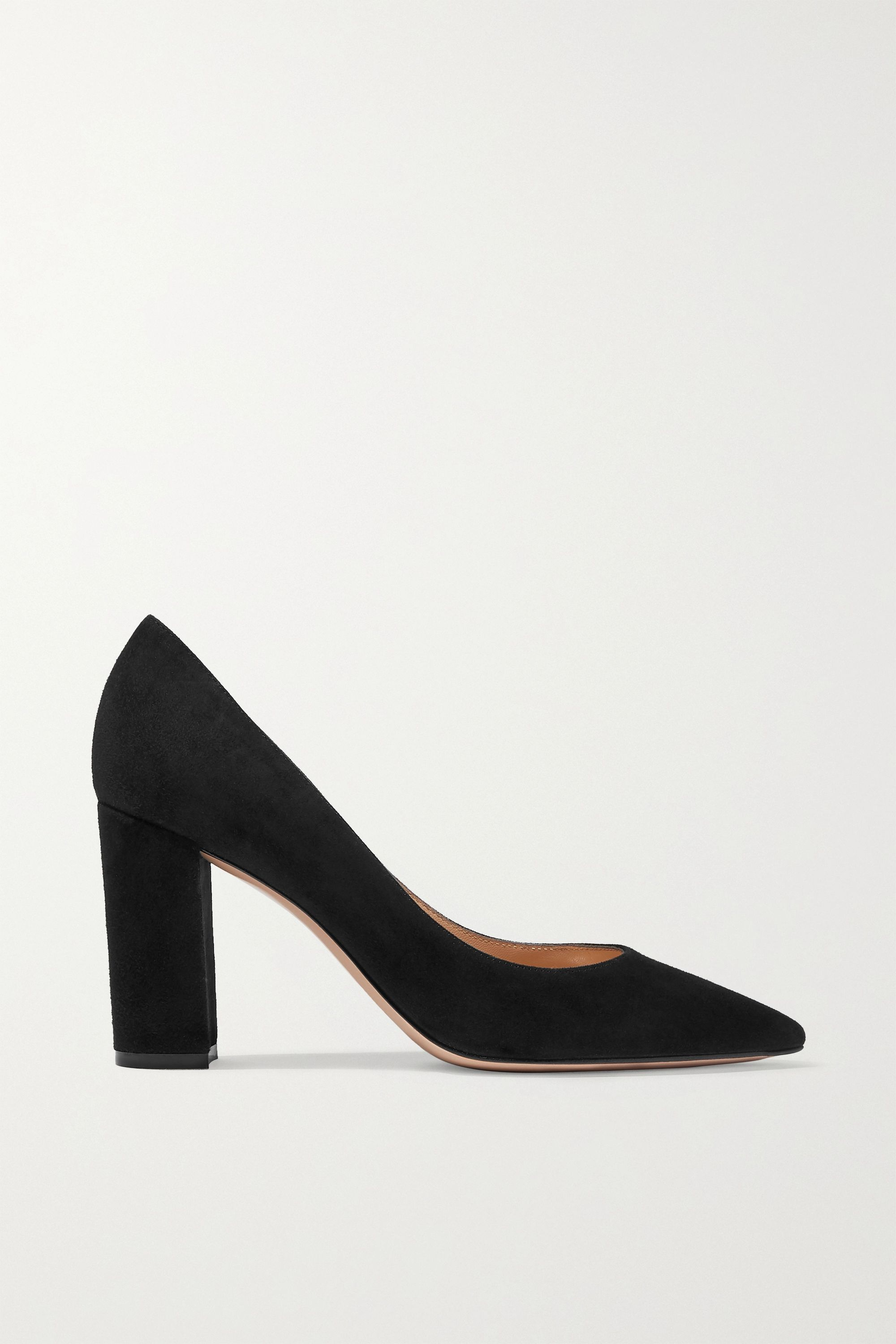 Gianvito Rossi Piper 85 suede pumps