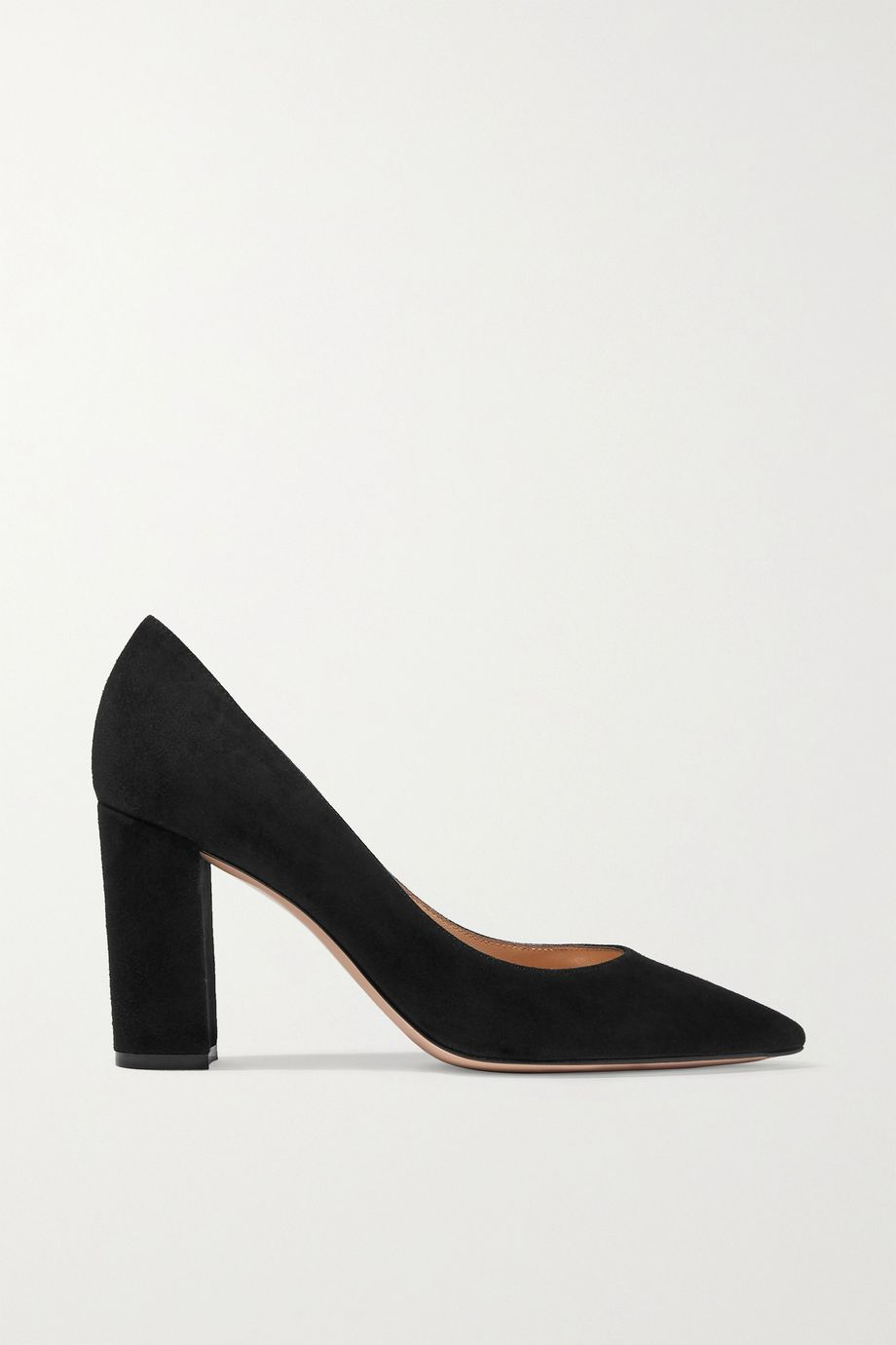 Gianvito Rossi Piper 85 Pumps aus Veloursleder