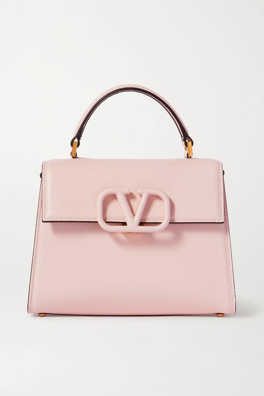 Valentino Valentino Garavani VSLING small textured-leather shoulder bag