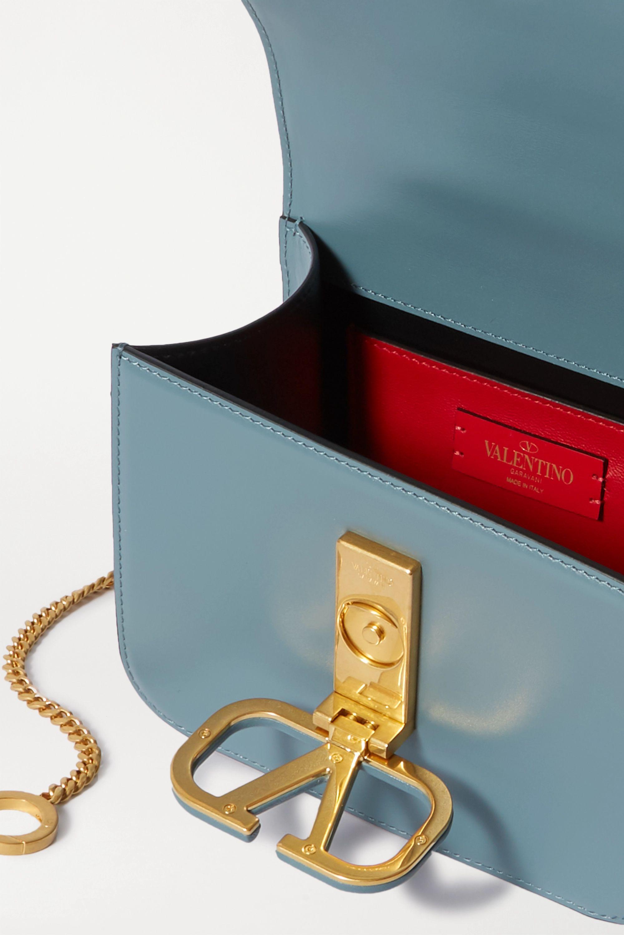 Valentino Valentino Garavani VSLING kleine Schultertasche aus Leder