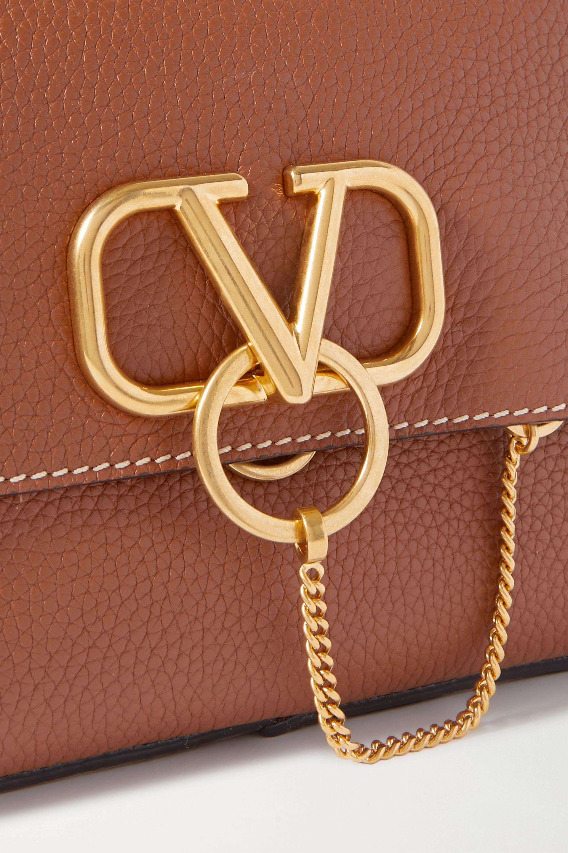 "Valentino Valentino Garavani ""VRING"" 纹理皮革单肩包"