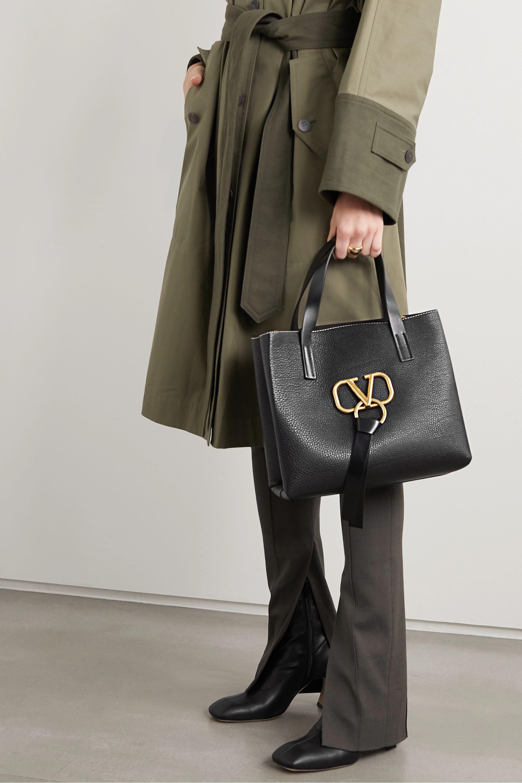 Valentino Valentino Garavani VRING small textured-leather tote