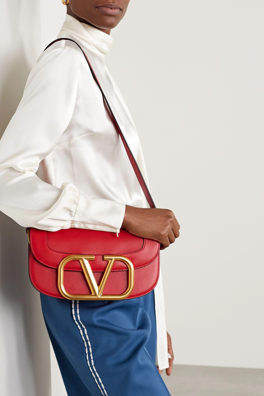 Valentino Valentino Garavani Supervee leather shoulder bag