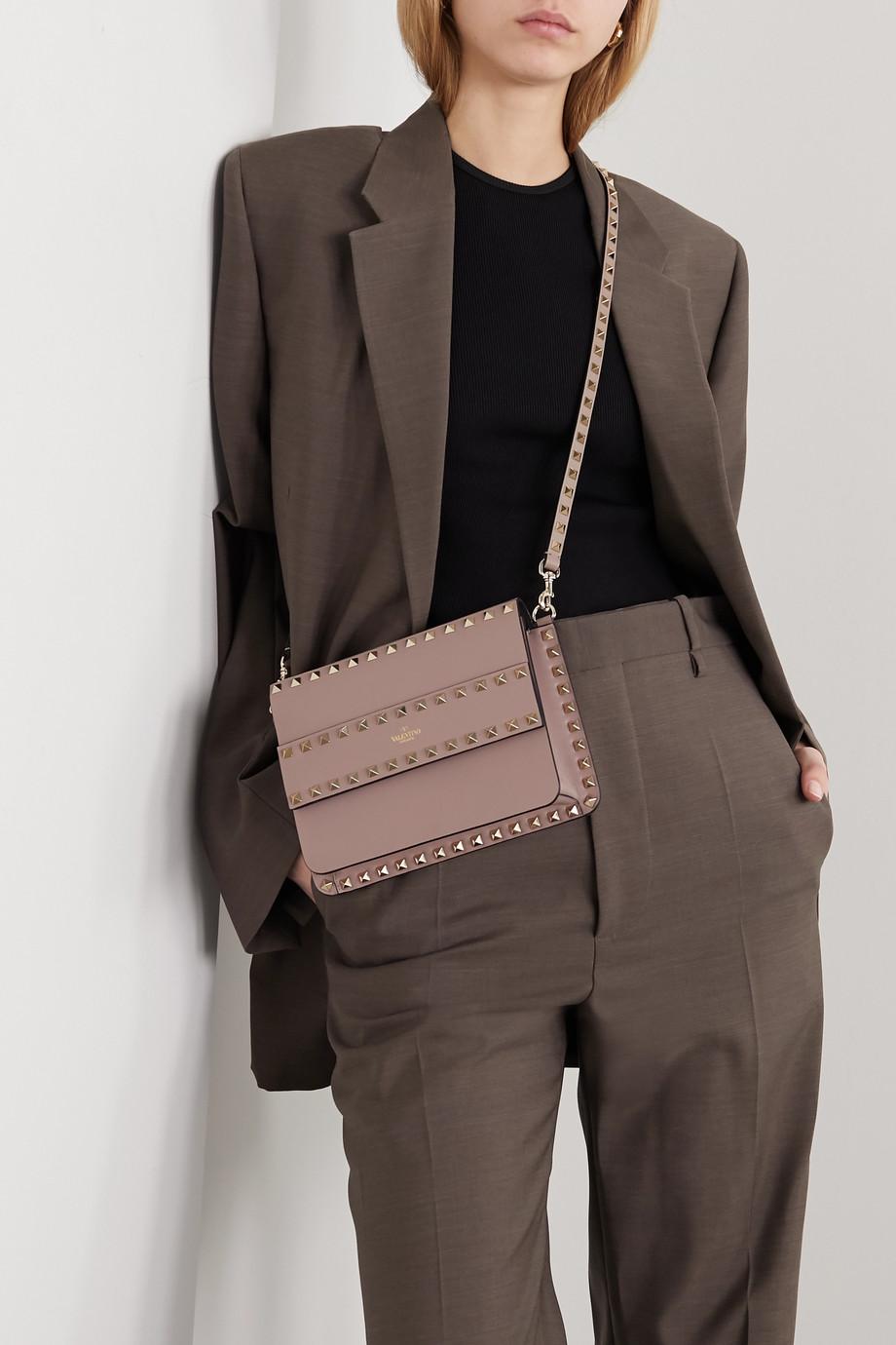 Valentino Valentino Garavani Rockstud leather shoulder bag