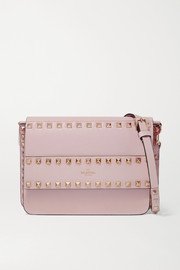 Valentino Valentino Garavani Rockstud leather shoulder bag