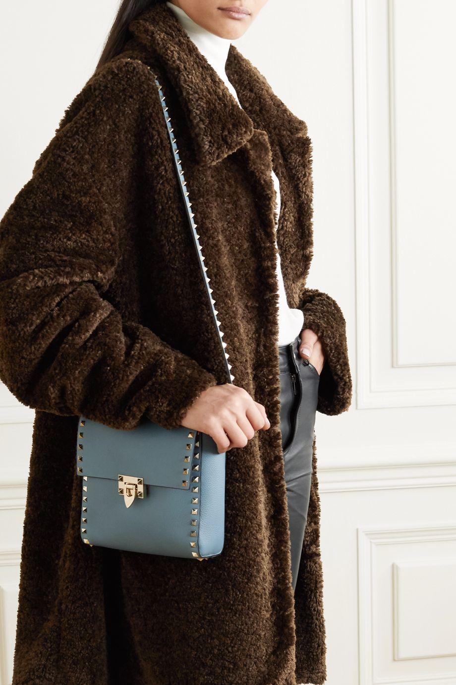Valentino Valentino Garavani Rockstud small leather shoulder bag