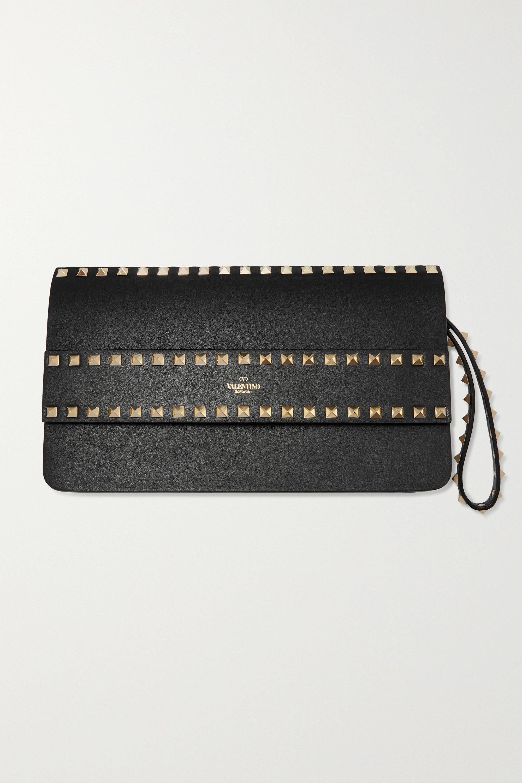 Valentino Valentino Garavani Rockstud leather clutch