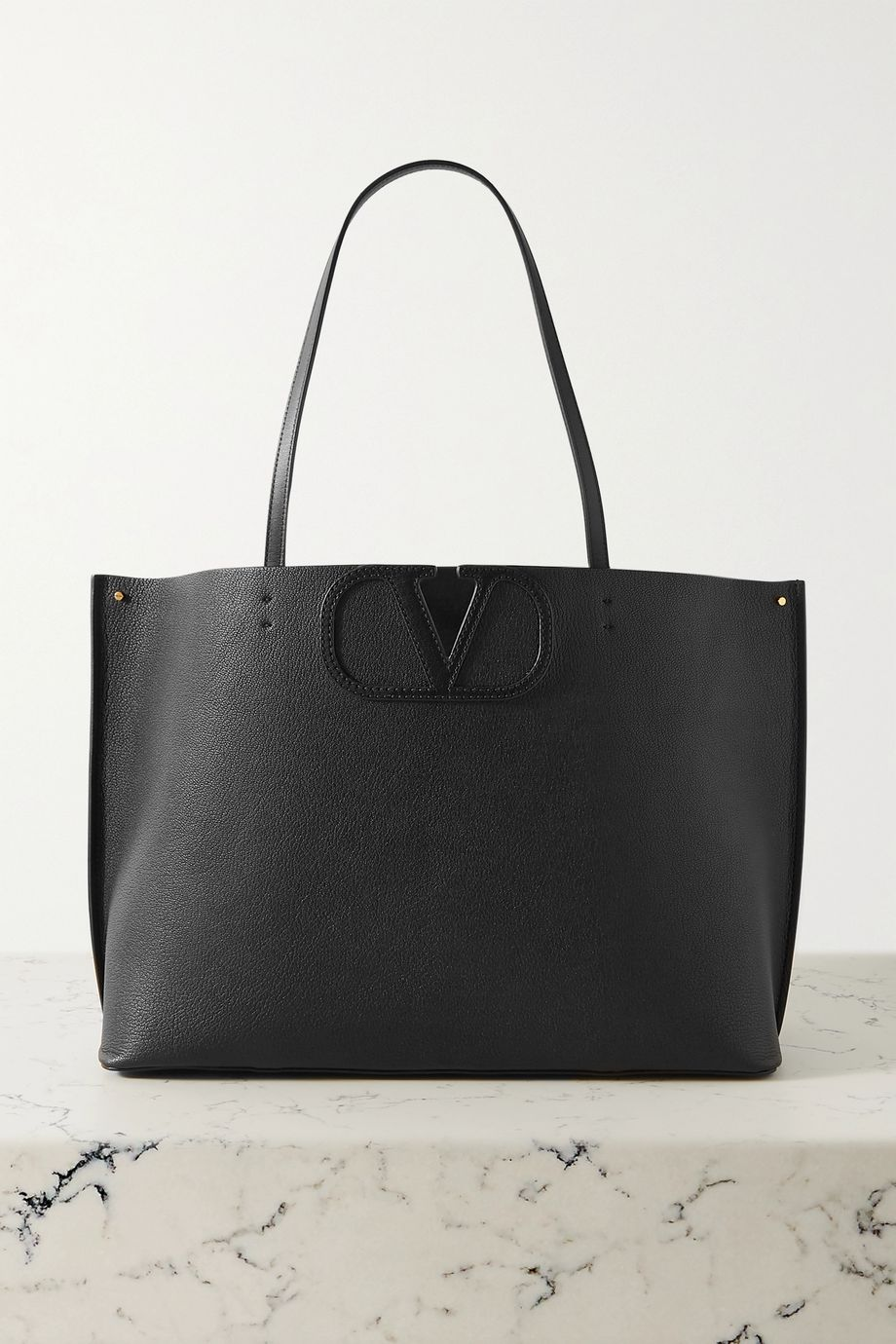 Valentino Valentino Garavani Fill Me medium textured-leather tote