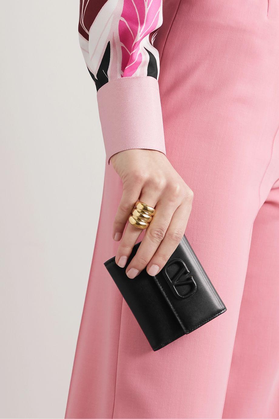 Valentino Valentino Garavani VSLING leather wallet