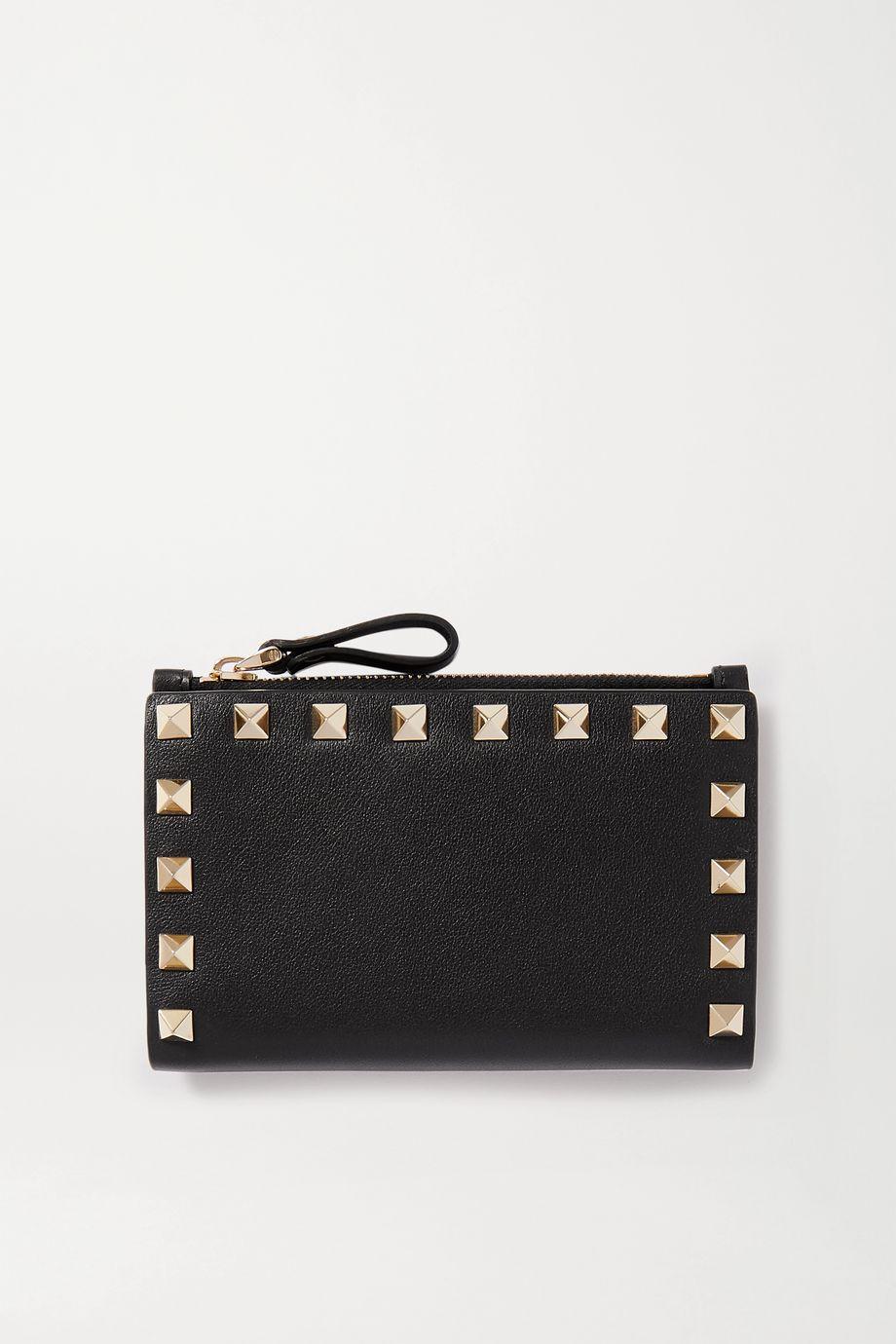 Valentino Valentino Garavani Rockstud medium leather wallet