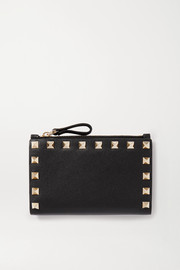 Valentino Garavani Rockstud medium leather wallet