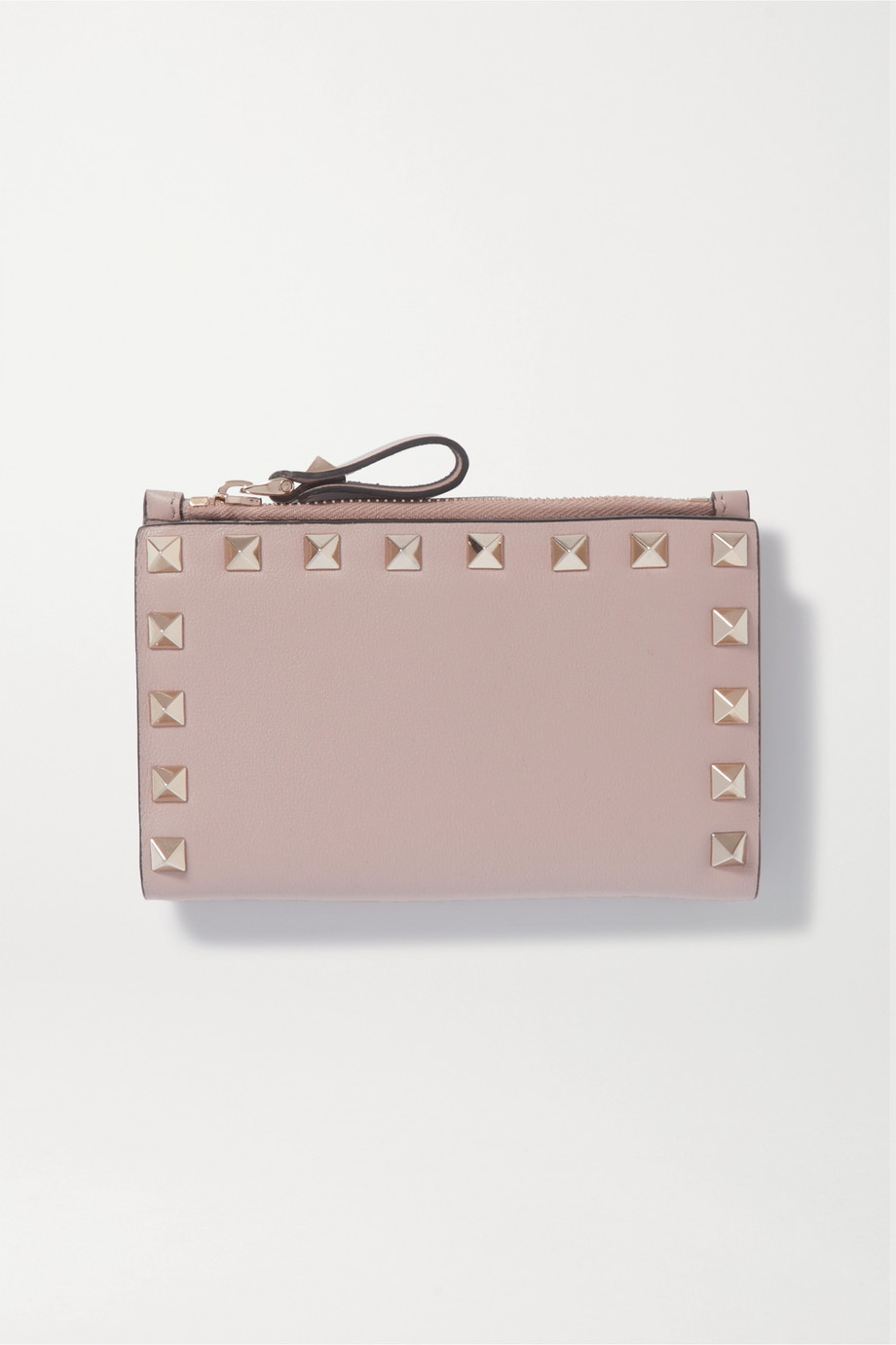 Valentino Valentino Garavani Rockstud leather wallet