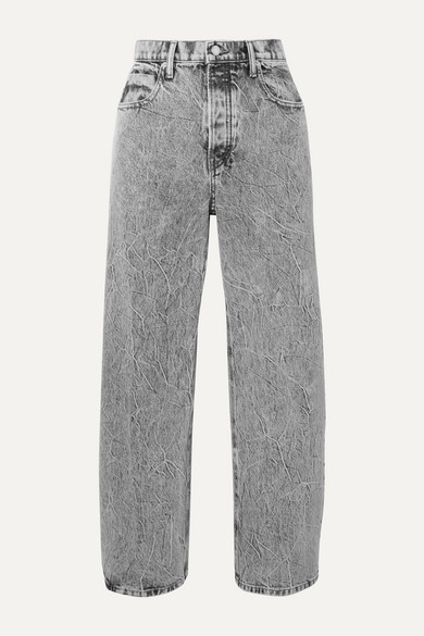 curb-cropped-acid-wash-high-rise-straight-leg-jeans by alexander-wang