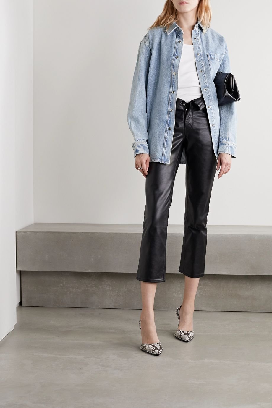 Alexander Wang Oversized denim shirt