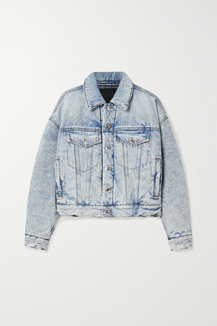 Alexander Wang Padded denim jacket