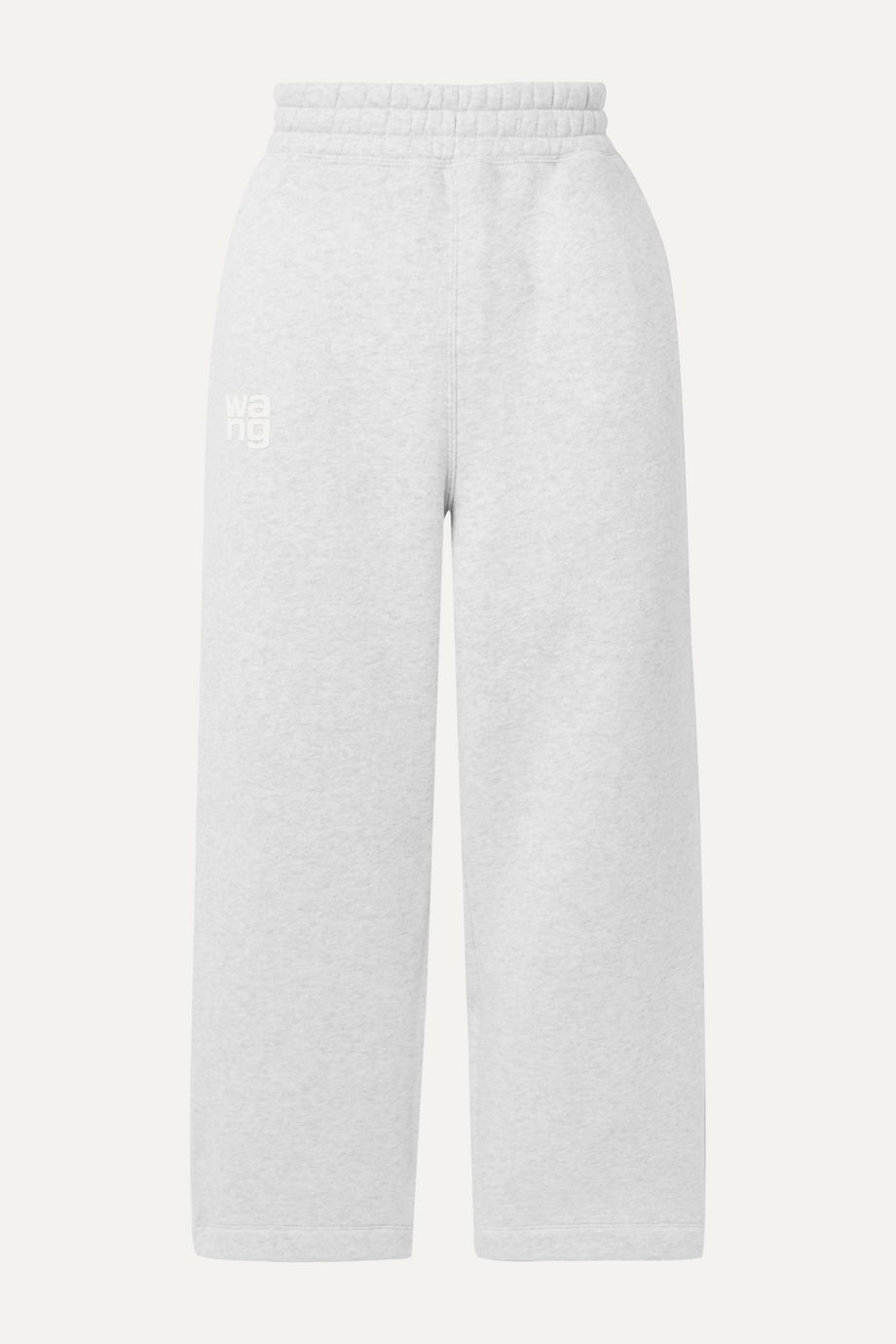 alexanderwang.t Printed cotton-blend jersey track pants