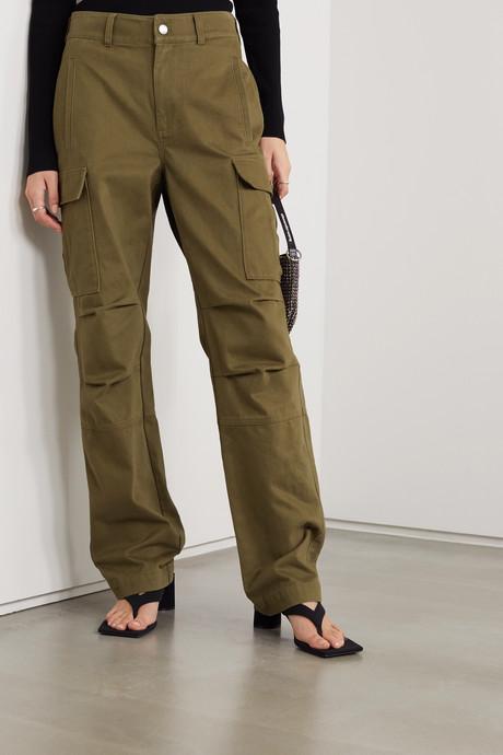 Cotton-twill cargo pants