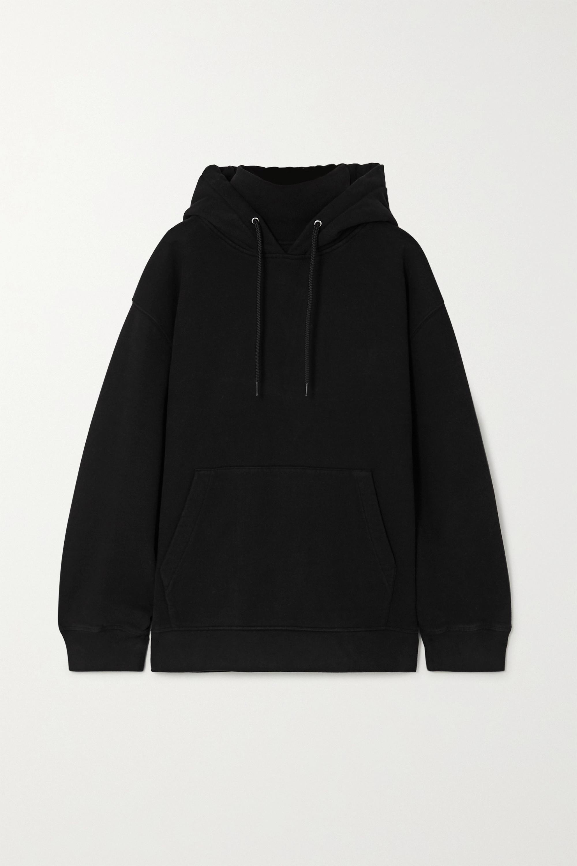alexanderwang.t Cotton-jersey turtleneck hoodie