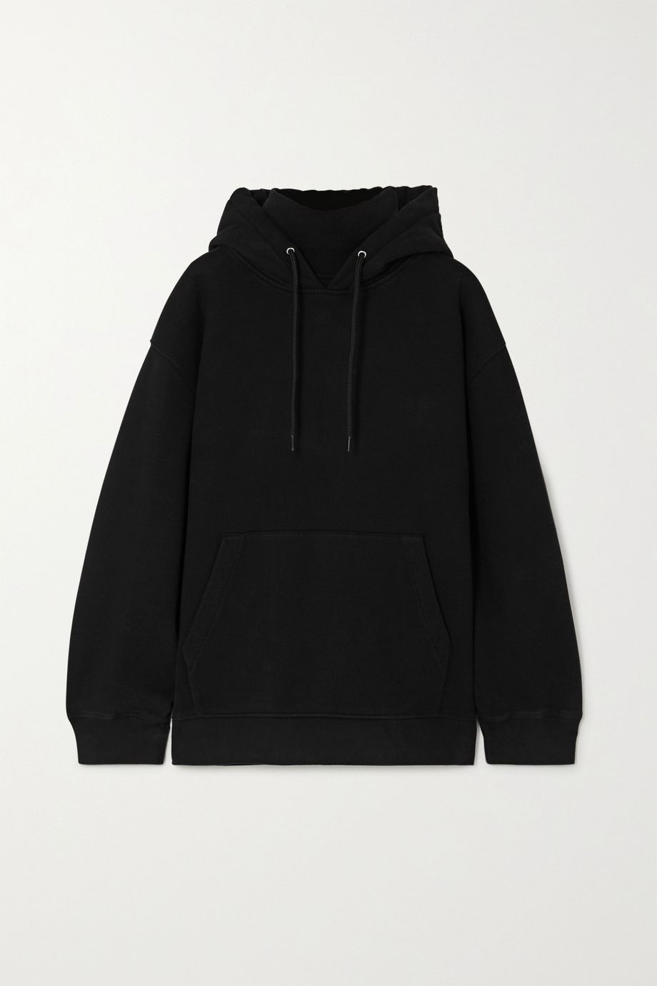 alexanderwang.t Cotton-jersey turtleneck hoodie