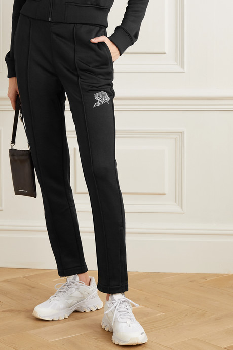 French terry track pants