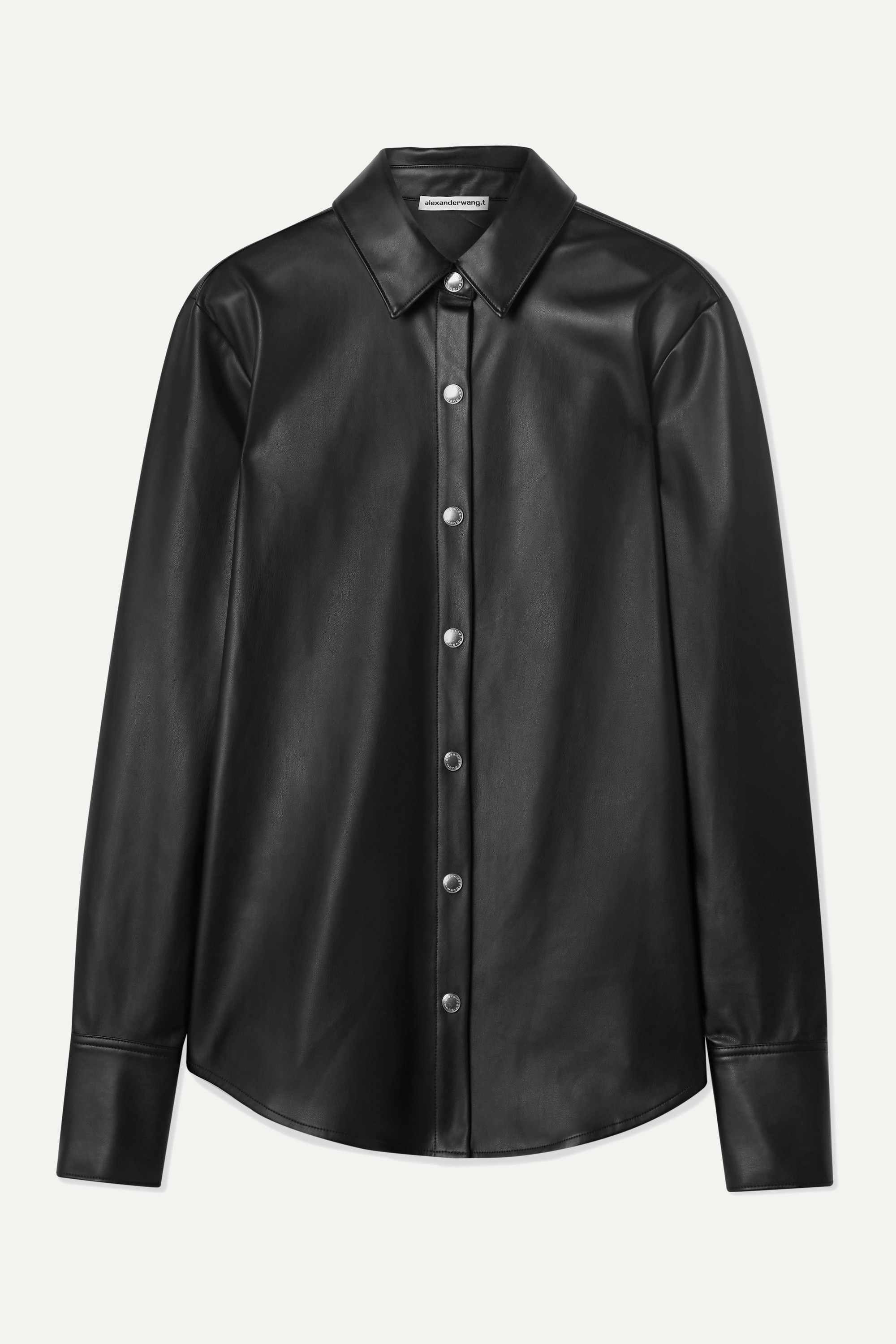 alexanderwang.t Faux leather shirt
