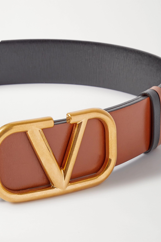 Valentino Ceinture réversible en cuir VLOGO Valentino Garavani