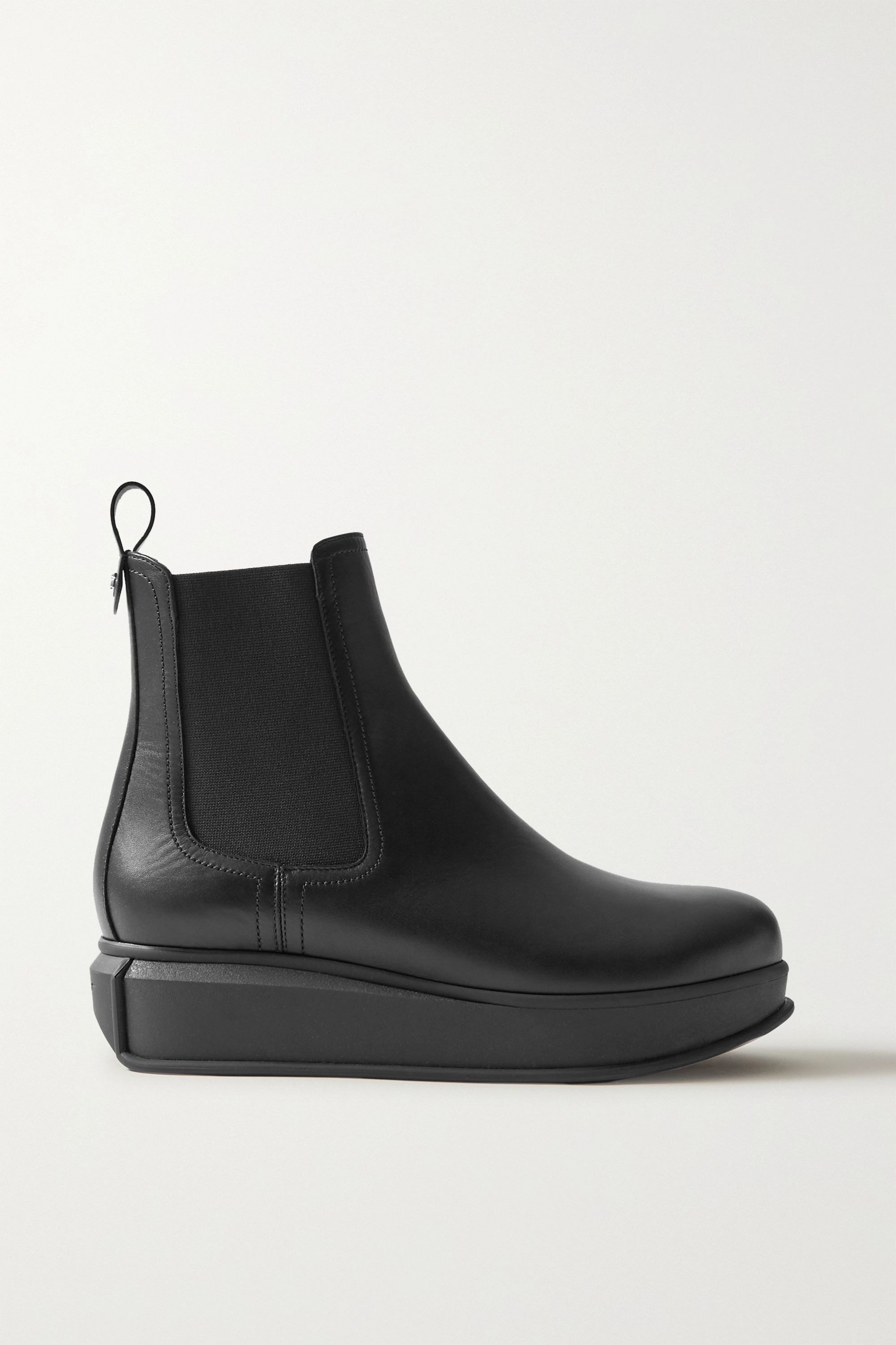 Salvatore Ferragamo Kay leather Chelsea boots