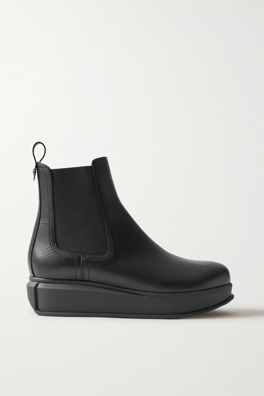 Salvatore Ferragamo Kay leather Chelsea boots