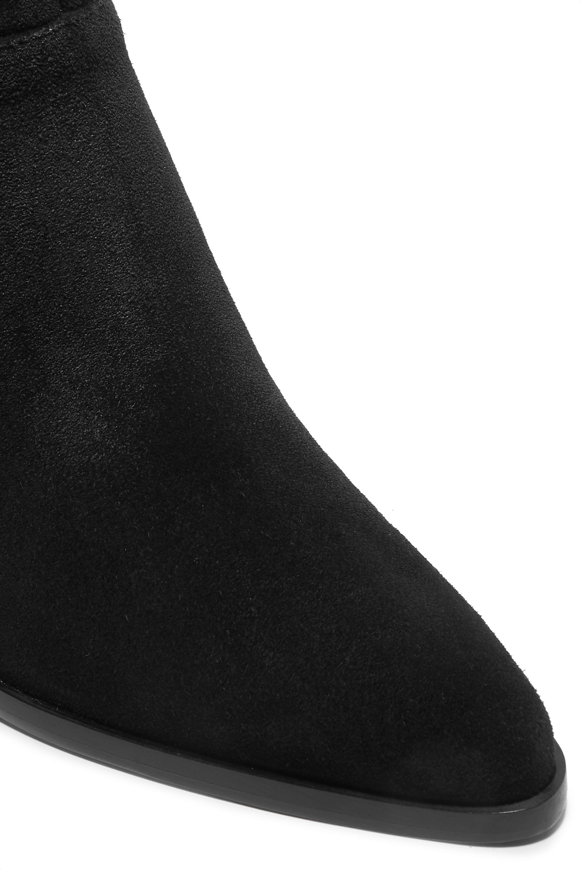Vince Mavis suede wedge ankle boots