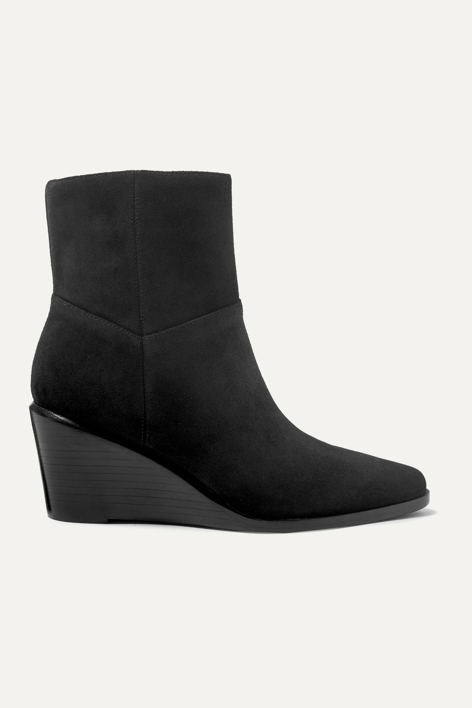 Vince Mavis suede wedge ankle boots