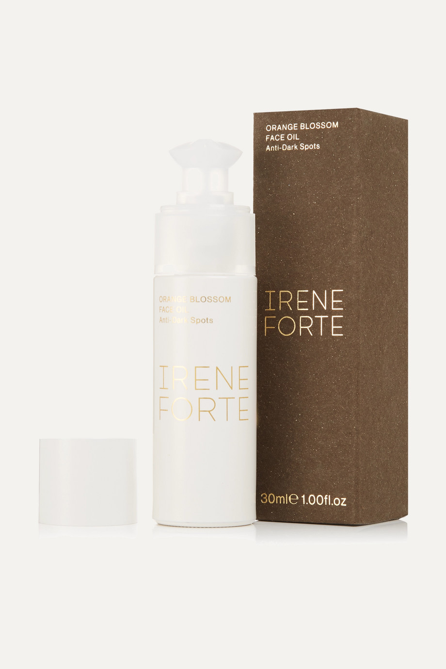 Irene Forte + NET SUSTAIN Anti-Dark Spots Orange Blossom Face Oil, 30ml