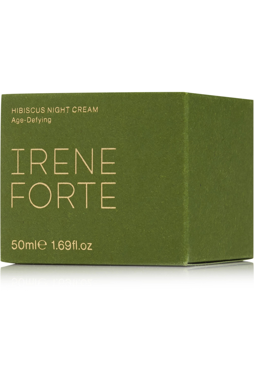 Irene Forte + NET SUSTAIN Age-Defying Hibiscus Night Cream, 50ml