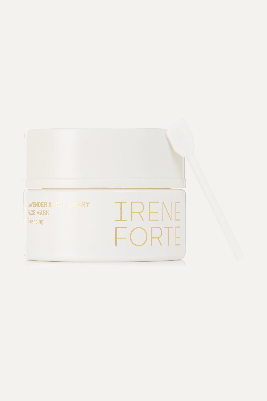 Irene Forte + NET SUSTAIN Balancing Lavender & Rosemary Face Mask, 50 ml – Gesichtsmaske