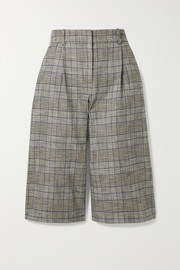 Fernanda checked tweed culottes