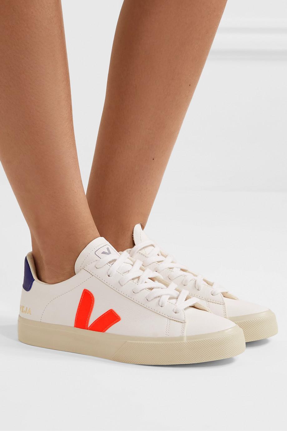 Veja Campo Sneakers aus strukturiertem Leder