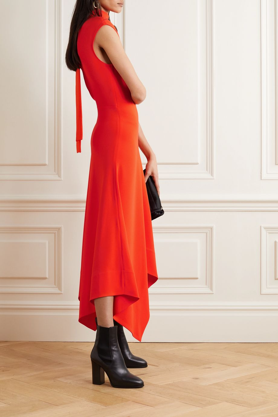 Proenza Schouler Asymmetric crepe maxi dress