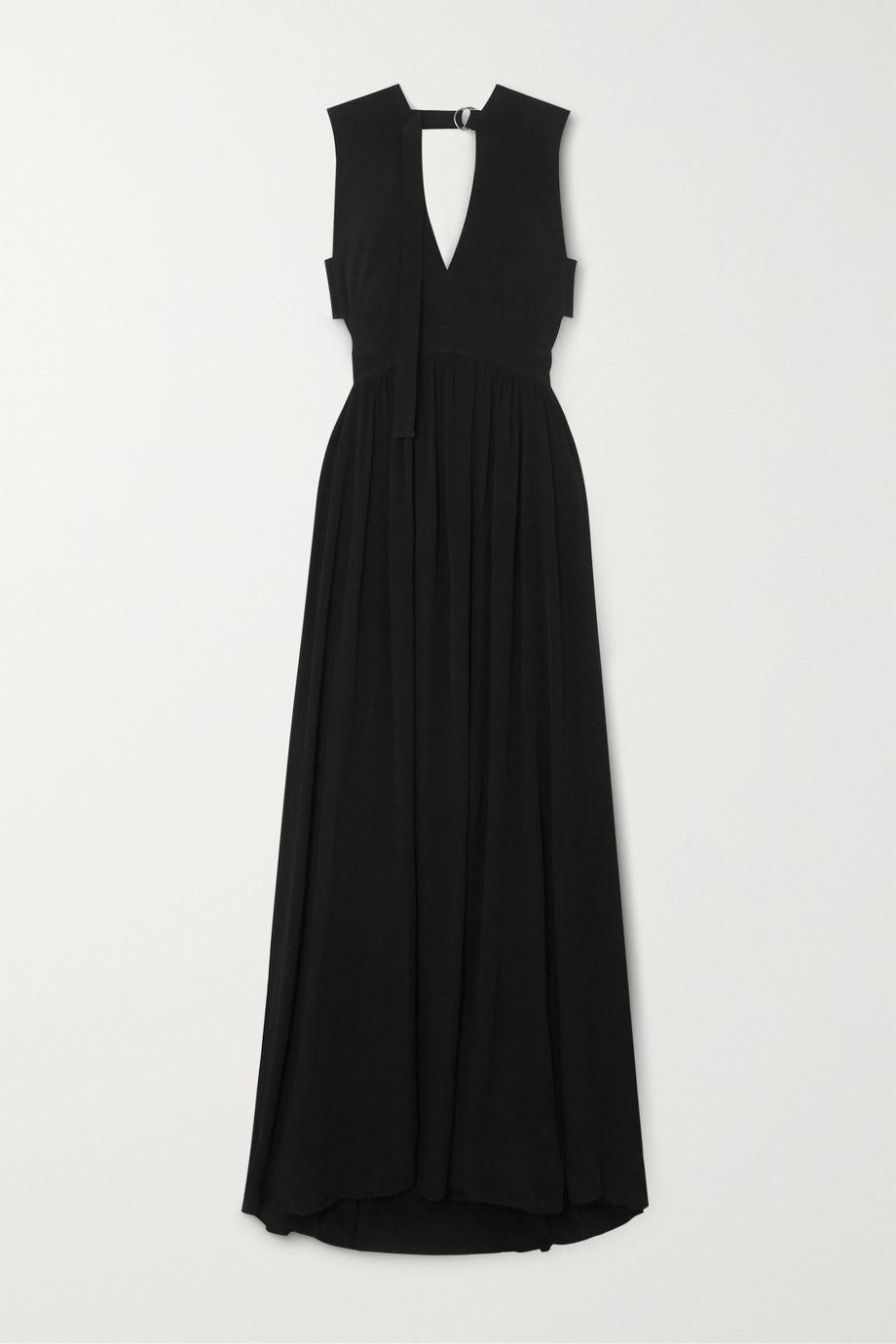 Proenza Schouler Cutout crepe maxi dress
