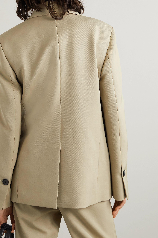 Proenza Schouler Draped wool-blend blazer