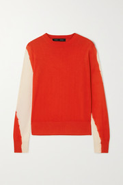 Proenza Schouler Tie-dyed cotton-blend sweater