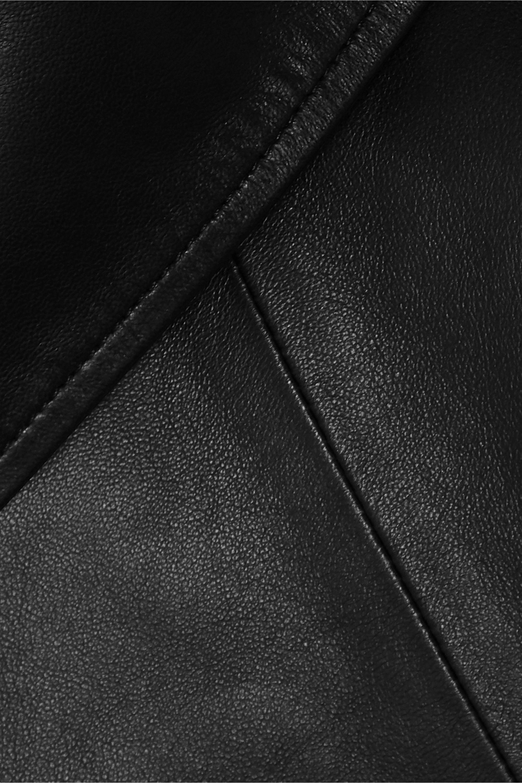 Proenza Schouler Draped leather top